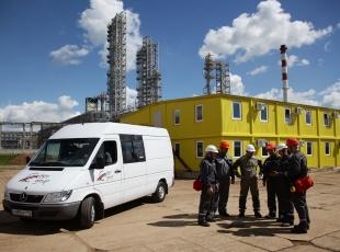 Ввод в эксплуатацию административно-бытового здания по адресу: г. Нижнекамск, Промзона
